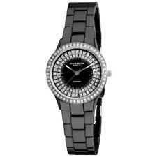 Akribos XXIV Women's AK509 Ceramic Slim Quartz Bracelet Watch 5324