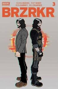 Brzrkr #3 - Boom! Studios - Bagged & Boarded