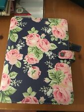 Webster's Pages A5 Planner Navy with roses NEW Perfect condition!