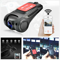 1080P Hidden 170° WiFi Car DVR Camera Video Recorder Dash Cam Night Vision G-Sen