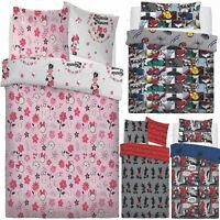 Kids Duvet Cover Disney Character Rotary Boys Girls Bedding Childrens Bed Set