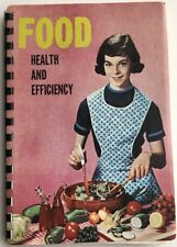 Food Health And Efficiency by Marion W. Vollmer Vintage Rare Cookbook 1964