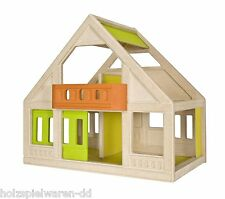 PlanToys 7601 Mein Erstes Puppenhaus - Neues Modell Holz Neu! #