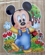 Nuevo Disney Mickey Mouse Bebé Pared habitación Etiqueta Grande 85 X 53