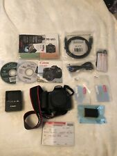 Canon EOS 60D 18.0 MP Digital SLR Camera Body Only with box & books