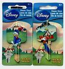 Donald Duck & Goofy Disney HOUSE KEY BLANKS for Schlage SC1 Home Door Locks
