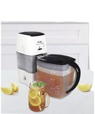 Mr. Coffee Iced Tea TM75RS-BK-1 3-Quart Tea and Iced Coffee Maker, Black