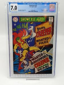 Showcase 73 CGC 7.0 1st Creeper!!! Pristine Slab, Combined Shipping!