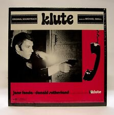 """Klute"" RARE Cult LP Soundtrack Original (In Shrink) 1977 WS 1940 Michael Small"