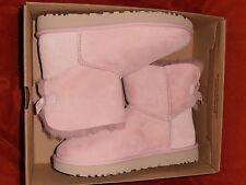 Ugg Australia  MINI BAILEY BOW STRIPE Short Boot 1015766 PINK Size 10 NIB NEW