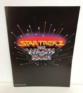 1982 Star Trek II The Wrath of Khan Movie Special 82-5 Theater Program NOS