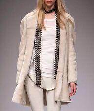 Isabel Marant écru soie métal de perles embellie Reece écharpe ceinture Skinny piste