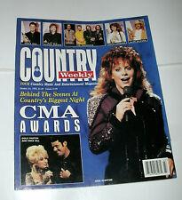 COUNTRY WEEKLY 1995 OCT 24, REBA; DOLLY; VINCE;ALISON KRAUSS;MAVERICKS;AL JACKSN