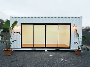 Shipping Container 20ft High Cube Studio Office Gym Spare Room