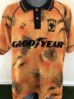 ULTRA RARE Wolverhampton Wanderers Shirt 1992/93 GREAT CONDITION 92/93 Wolves L