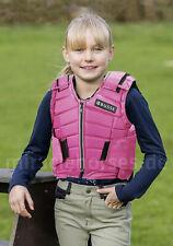 Busse Kinder-Sicherheitsweste Belton Protektor-Schutzweste pink *Sonderposten*