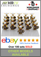 21 Minifigures Viking Warrior Army Military - LE GO Compatible