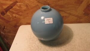 Antique Blue Milk Glass Lightning Rod Ball  No. 2