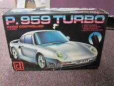 "RARE P.959 TURBO"" RADIO CONTROL 1:24 SCALE CAR WITH BOX"