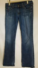 Citizens of Humanity Jeans Ric Rac #108 Low Waist Bootcut Made In USA Sz 32