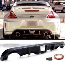 Fit 09-19 Nissan 370z Unpainted Polyurethane OE Style Rear Bumper Lip Diffuser