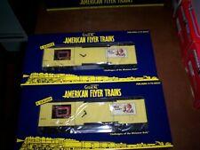 American Flyer #48282  2010 Carling Black Label Reffer 2 Pack of cars