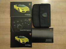Lamborghini Huracan RWD Spyder Owners Handbook/Manual and Wallet