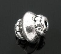 40 Antiksilber Metall Perlen Spacer Perlen Beads Zwischenteil 5x7mm