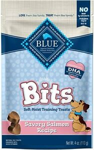 Natural Blue Buffalo Dog Training Treats Healthy Salmon Bits MADE IN USA Sale