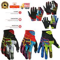 Cycling Gloves Mountain Bike MTB BMX Full Finger Windproof Racing Off Road Sport