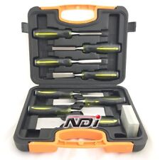 9 PIECE CHISEL SET + CARRY CASE WOODWORKING ND-0211