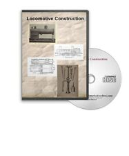 Locomotive Construction 9 Historic Books Train Steam Boiler Encyclopedia CD D421