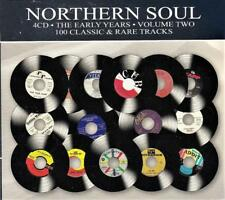 NORTHERN SOUL VOL. 2 - 100 CLASSIC TRACKS - VARIOUS ARTISTS (NEW SEALED 4CD)
