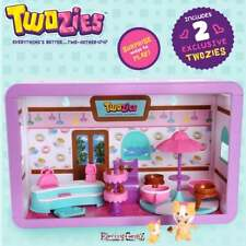 Twozies Two-Playful Cafe Playset  with Tea Cup Roundabout & 2 Exclusive Figures