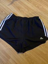 Adidas Women Shorts Pacer 3 Stripes Woven Sports Running Football Shorts