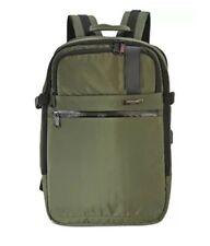 DUCHAMP Getaway Backpack Suitcase OLIVE GREEN NEW