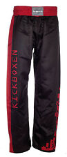 "Ju-Sports Kickboxhose CS 14 ""Step"" red/black, Kick-Box-Hose, Kickboxen"