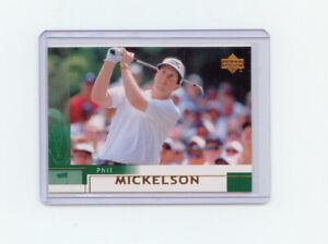 Upper Deck 2002 #41 Phil Mickelson Rookie  Mint   Sharp Corners  Centered  PGA
