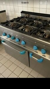 MBM Gasherd 6 Flammen Gastronomie Standgerät