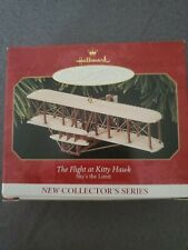 Hallmark The flight of Kittyhawk sky's the limit collector series ornament