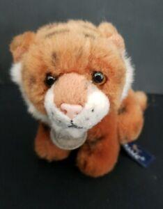 Aurora classic Tiger 10cm Tall Soft Toy Plush Toy Animal