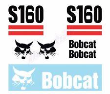 Bobcat S160 Skid Steer Set Vinyl Decal Sticker - Aftermarket