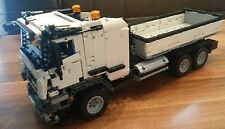 Recipe Instruction 8052 42043 truck conversion-Unique MOC Lego Technic