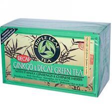 Triple Leaf Tea, Ginkgo & Decaf Green Tea, 20 tea bags