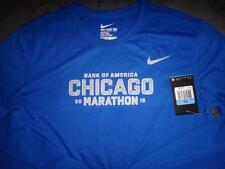 NIKE  CHICAGO MARATHON RUNNING SHIRT LONG SLEEVE DRI-FIT SIZE XL MEN NWT $43.00