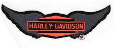 HARLEY DAVIDSON 12 INCH DIAMOND WINGS VEST PATCH * 2XL * OBSOLETE * VINTAGE *