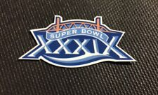 Superbowl 39 Patriots Eagles Custom Football Helmet Decal