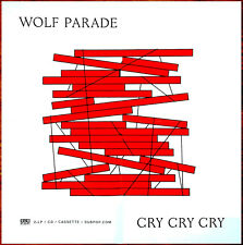 Wolf Parade Cry Cry Cry 2017 Ltd Ed Huge Rare Poster +Free Indie Rock Alt Poster