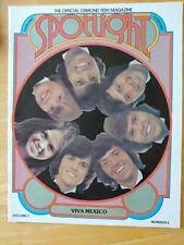Vintage Osmond Spotlight Magazine June 1975 Jay Donny Osmonds Rare Jimmy Marie