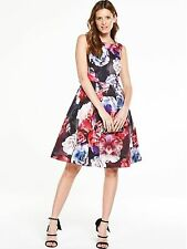 V by Very PREMIUM Floral Prom Dress - PLUS SIZE 18